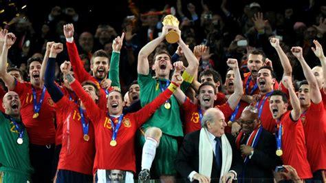España es la última selección en estrenarse como campeona ...