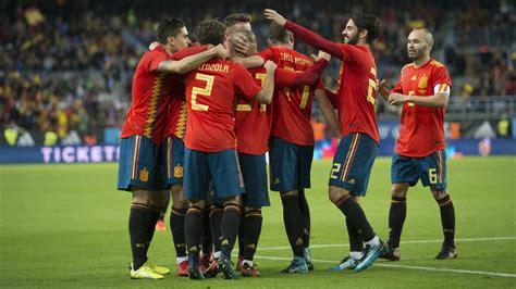 España juega esta semana dos amistosos: fechas y horarios ...