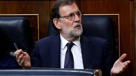 España: Rajoy no descarta suspender la autonomía de Cataluña