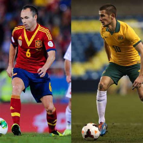 España vs Australia en vivo online Mundial 2014