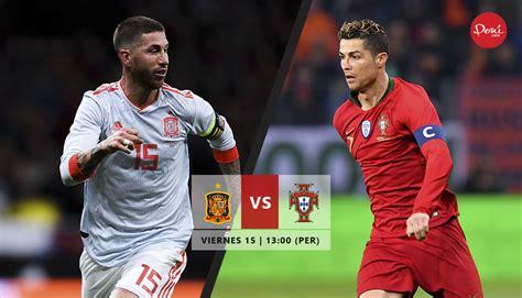 España vs Portugal EN VIVO y EN DIRECTO por el Mundial ...