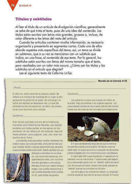 Español 3er. Grado by Rarámuri  page 78    issuu