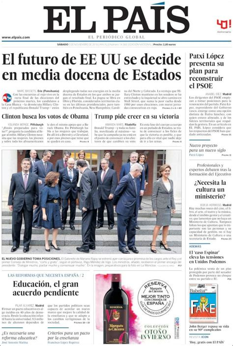 español a través de la actualidad : nuevo gobierno España