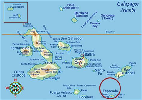 Española Island Galapagos - Facts, Maps & Information