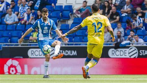 Espanyol   Las Palmas: la Liga Santander de futbol, hoy en ...
