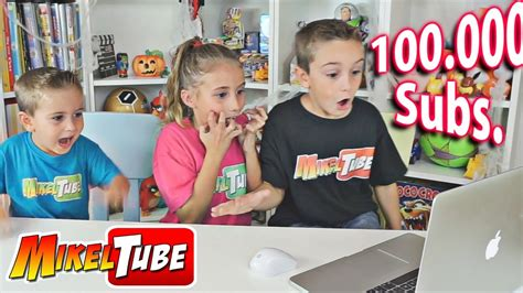 Especial 100.000 suscriptores en MikelTube Parte #1 - YouTube