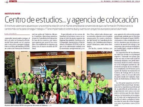 ESPECIAL EDUCACIÓN EN EL PERIÓDICO ELMUNDO - Instituto INTER
