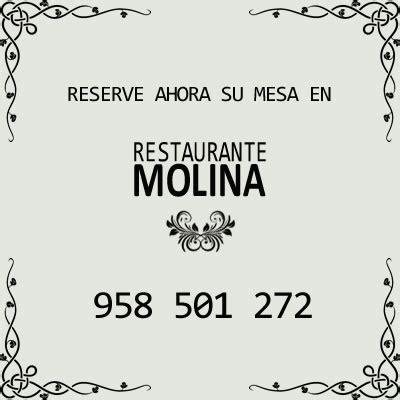 Especialidades - Restaurante Molina en Huétor Vega