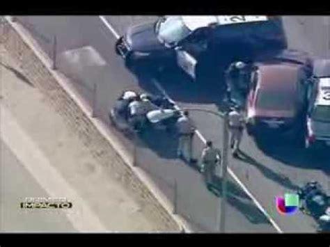 Espectacular persecución policial en Estados Unidos - YouTube