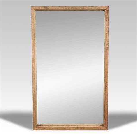 Espejo y Espejo de madera   Batavia