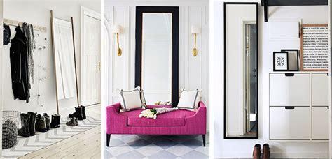 Espejos de pie y pared para decorar el recibidor