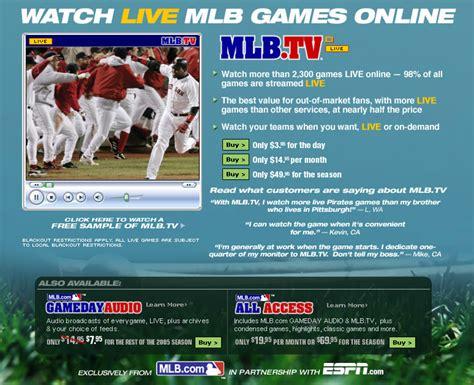 ESPN.com   MLB   ESPN s MLB.TV