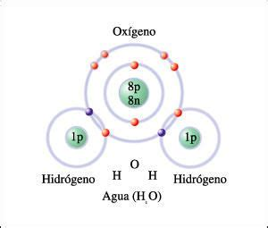 ESQUEMA DE UNA MOLÉCULA DE AGUA: El agua es la molécula ...