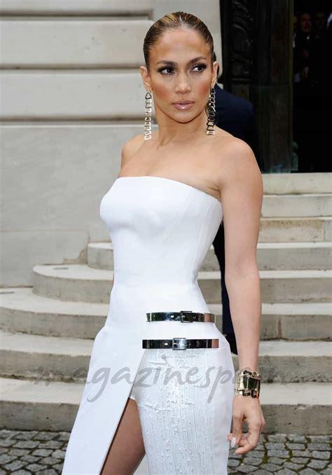 Está de moda… Jennifer López exhibición de trasero en su ...