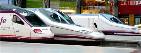 Estación de Tren de Málaga   Ave, Tren de Alta Velocidad