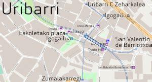 Estación de Uribarri - Wikipedia, la enciclopedia libre