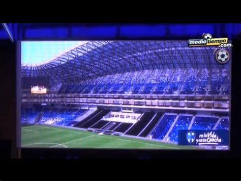 Estadio de Rayados, con nombre de banco - YouTube