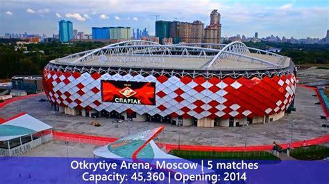 Estadios de la Copa Mundial de la FIFA Rusia 2018™ - YouTube