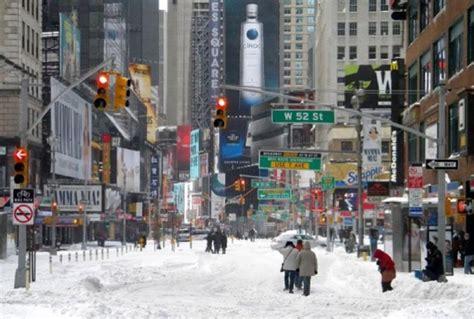 Estado de emergencia en Nueva York por nieve   88.9 Noticias