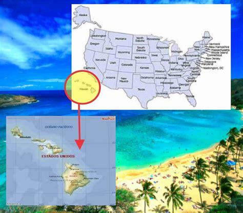 ESTADO DE HAWAII: Ubicacion Geográfica Hawaii
