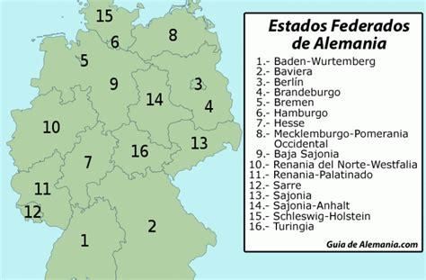 Estados federados de Alemania   Guia de Alemania