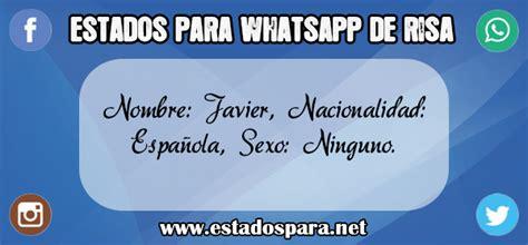Estados graciosos para WhatsApp ¡RISA ASEGURADA!