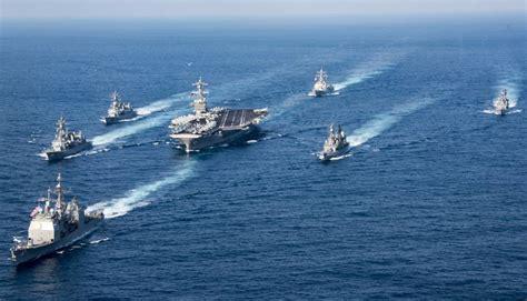Estados Unidos deslocam navios de guerra para península da ...