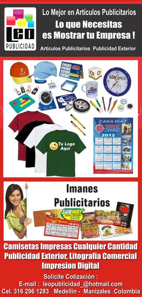 Estampados y Publicidad Manizales: Articulos Promocionales ...
