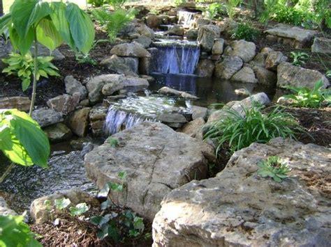 estanque de jardín con cascada | jardines | Pinterest ...