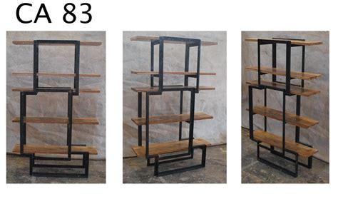 Estanteria madera y hierro – Materiales de construcción ...