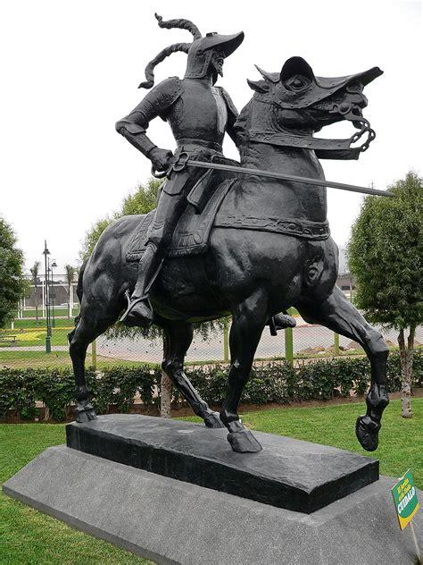 Estatua ecuestre de Francisco Pizarro - Wikipedia, la ...