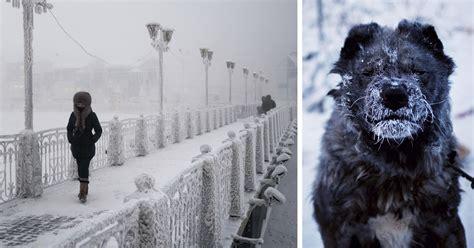 Este fotógrafo visitó el pueblo más frío del mundo, donde ...