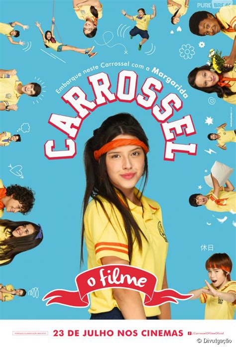 Esther Marcos é a fofa Margarida em Carrossel   o Filme...