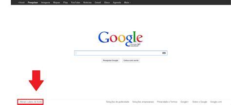 Estilo Amigas: tuto:como mudar o plano de fundo no google.