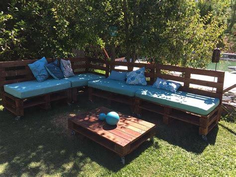Estilos de muebles de terraza hechos con palets. ¿Con cuál ...