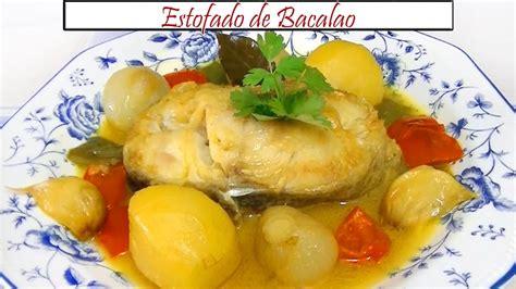 Estofado de Bacalao | Receta de Cocina en Familia - YouTube