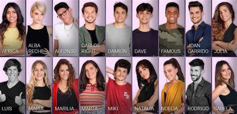 Estos son los 16 concursantes de OT 2018 | Mira
