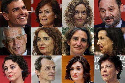 Estos son los perfiles de los ministros de Pedro Sánchez ...