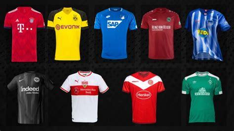 Estos son los uniformes de los equipos de la liga alemana ...