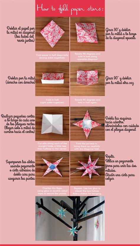Estrella 3D en papel