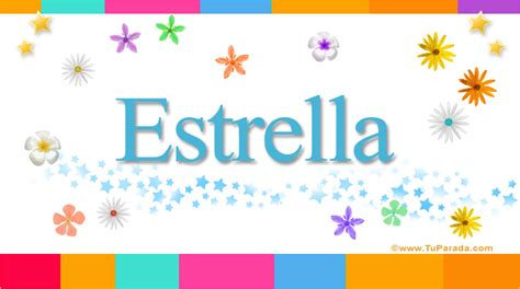 Estrella, significado del nombre Estrella, nombres
