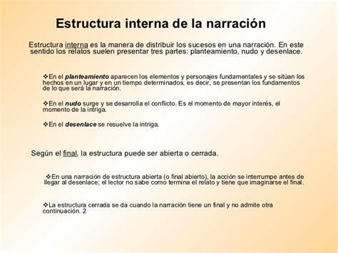 Estructura Interna De La NarracióN