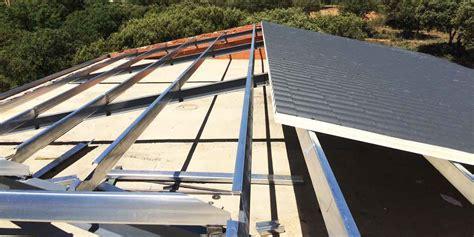 estructura metalica cubierta panel sandwich – LA FRAGUA DE ...