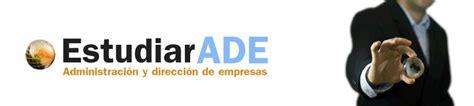 Estudiar ADE   Grado en ADE