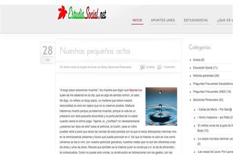 EstudiaSocial.net | ideaWeb Diseño paginas web Madrid ...