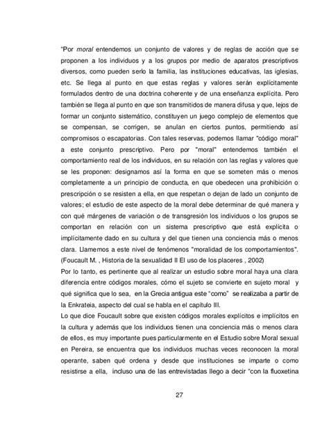 Estudio sobre moral sexual en pereira, Laura Diosa.