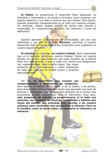 Estudios Y Futbol