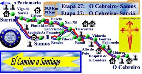 Etapa 27 del Camino Francés a Santiago: O Cebreiro - Samos ...