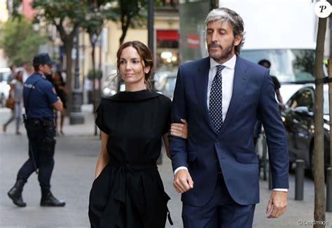 Eugenia Silva et son compagnon Alfonso de Borbón y Yoldi ...