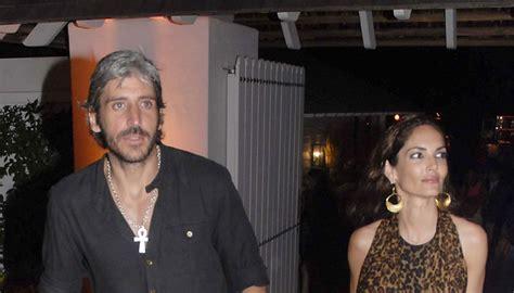 Eugenia Silva y Alfonso de Borbón, de fiesta